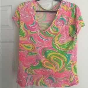 Lilly Pulitzer tee, XL